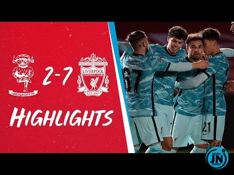Carabao Cup - Lincoln 2-7 Liverpool